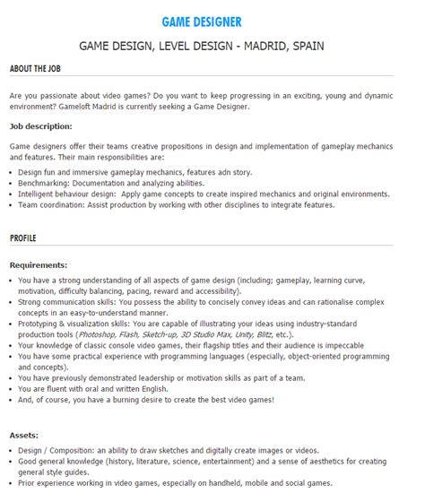 Blizzard Internship Cover Letter GROWNUPS CHASINGGQ